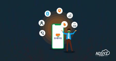 Features of Aarogya Setu app